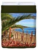 Love In Laguna Beach By Diana Sainz Duvet Cover