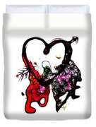 Love Is All Arround Duvet Cover