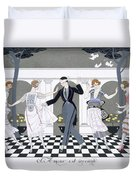 Love Is Blind Duvet Cover by Georges Barbier