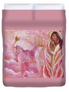 Love Is Crowned Duvet Cover