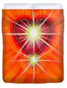 Love Is Light Duvet Cover