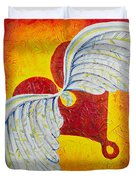 Love Is Taking Flight Duvet Cover