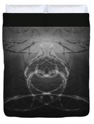 Love Life And Science Duvet Cover