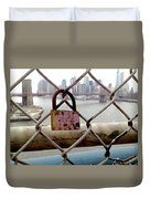 Love Lock Duvet Cover