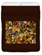 Love Locks Eternal Duvet Cover