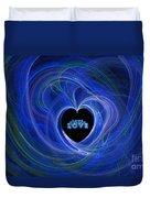 Love - Love - Love Duvet Cover