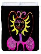 Love Me Duvet Cover