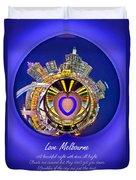 Love Melbourne Duvet Cover