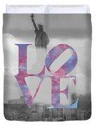 Love - New York City Duvet Cover