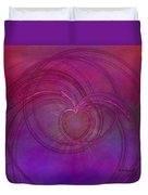 Love Of The Universe Duvet Cover