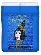 Love Potion Diagon Alley Duvet Cover