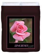Love Roses Duvet Cover