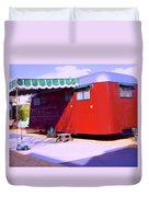 Love Shack Palm Springs Duvet Cover