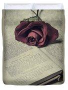 Love Stories Duvet Cover