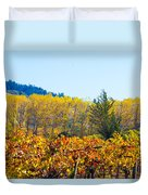 Lovely Fall Colors Duvet Cover