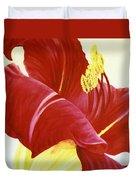 Lovely Lily Floral Print Duvet Cover