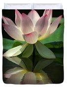 Lovely Lotus Reflection Duvet Cover