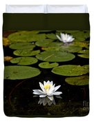 Lovely Pond Lily Duvet Cover