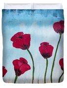 Lovely Poppies Duvet Cover