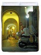 Lovers Sorrento Italy Duvet Cover