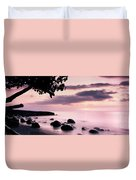 Lovina Sunset - Bali Duvet Cover
