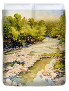 Low Flowing Creek Duvet Cover
