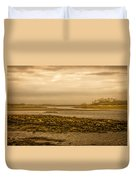Low Tide Cape Porpoise Maine Duvet Cover