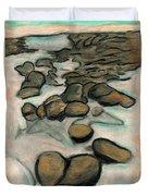 Low Tide Duvet Cover by Carla Sa Fernandes