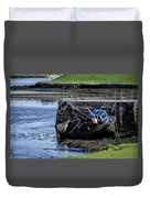 Low Tide Donegal Ireland Duvet Cover