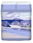 Low Tide  Iona Duvet Cover by Francis Campbell Boileau Cadell