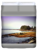 Low Tide Revelations Duvet Cover