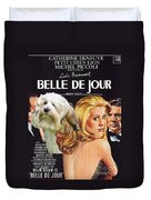 Lowchen Art - Belle De Jour Movie Poster Duvet Cover