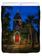 Lowcountry Church Duvet Cover
