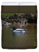 Lowcountry Duck Gathering Duvet Cover