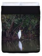 Lowcountry Pond Life Duvet Cover