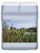 Lower Bruckland Nature Reserve Duvet Cover