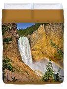 Lower Falls From Uncle Toms Trail Duvet Cover