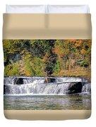 Lower Falls Duvet Cover