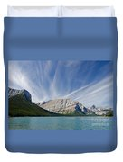 Lower Kananaskis Lake Duvet Cover