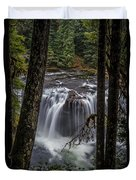 Lower Lewis Falls 3 Duvet Cover
