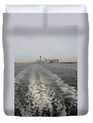 Lower New York Duvet Cover