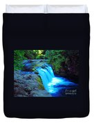 Lower Punchbowl Falls Duvet Cover
