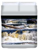 Lower Tequamenon Falls Duvet Cover