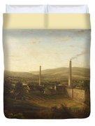 Lowerhouse Print Works, Burnley Duvet Cover