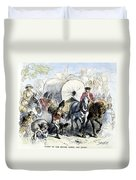 Loyalists & British, 1778 Duvet Cover