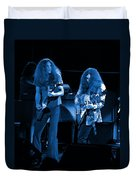Ls Spo #21 Crop 4 In Blue Duvet Cover