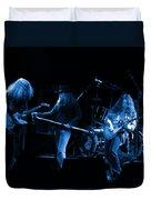 Ls Spo #26 Enhanced In Blue Duvet Cover