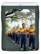 Lsu Marching Band 3 Duvet Cover