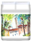 Lucca In Italy 06 Duvet Cover