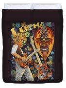 Lucha Rock Duvet Cover